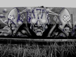 Tagged Train by jaded-ink