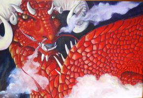 Red Dragon by saeto15