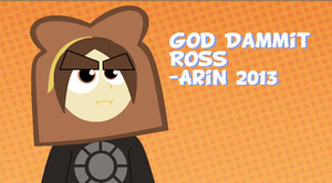 [GAME GRUMPS] God Dammit, Ross by SausageandTits