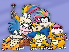 Koopa Kids by Tygry
