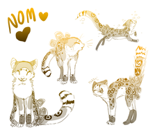 Nom sketches by The-F0X