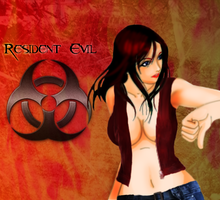 Claire Redfield Biohazard by TehVann024
