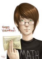 Happy Nerdy Valentines by red-amEs