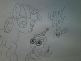 Blaine's first birthday by RarityLuver214