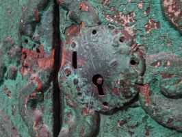 rusted lock by kayas-stock