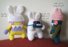 Little monsters 2 by hellohappycrafts
