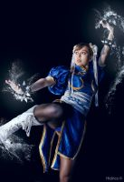 Chun Li - Be Water by Hidrico