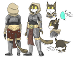 Whoops I Skyrim charactered. by lemondragon19
