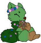 YCH hugging plush by Ayinai