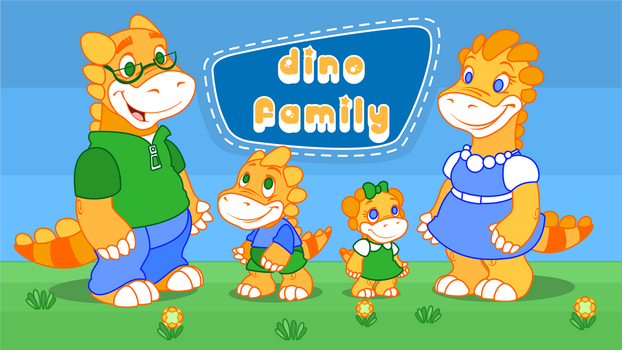 Dino Family by Youlia007