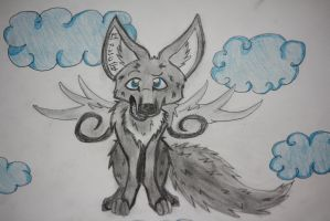 Angel Wolf by TomorrowsBadSeeds