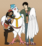 Everybody Loves The Pigeon by Joysweeper