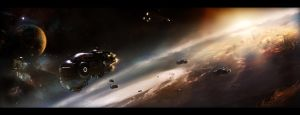 Get my fleet off the orbit by Morxx