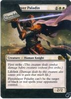 MTG Altered card_Fiendslayer Paladin by GhostArm1911
