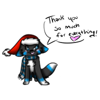 Thank you card picture I'm gonna use by FoxSock