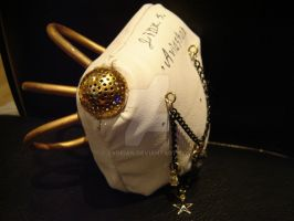 Steampunk Mask custom Order by Sydeian