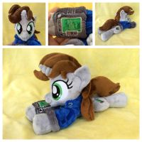 FoE Little Pip Beanie w/Suit and Pipbuck v2.0 by equinepalette