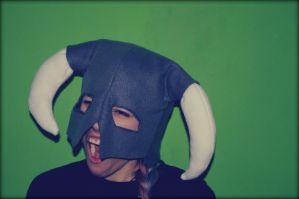 Skyrim Fleece Hat - Fus Ro Dah! by lAmikol