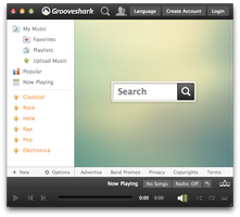 Grooveshark Desktop by Just--Jake