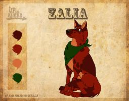 Zalia Reference Sheet- Updated by TaladWolf