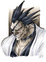 Kenpachi by AdamWithers