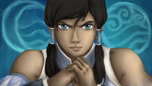 Avatar Korra of the Water Tribe by MelodicArtist