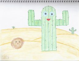 A Happy Cactus by creativlilthing