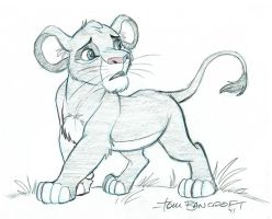 Lion King Week, Day 1: Simba by tombancroft