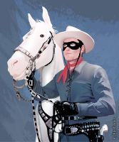 Silver and the Lone Ranger by kfairbanks