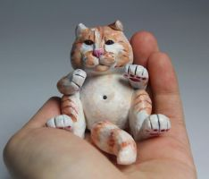 Wilhelm, the fat cat by suzannewolf