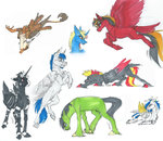 Markers sketches by Sunny125