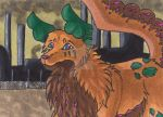 ACEO - My old Home by Seelentraeumerin
