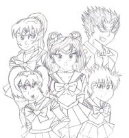 Sailor Scout Edit by Jenna-a-Sayianbabe
