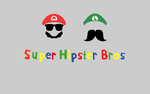 Hipster bros by rolito86