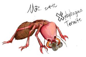 X is for Xylophagous Termite by Marioshi64