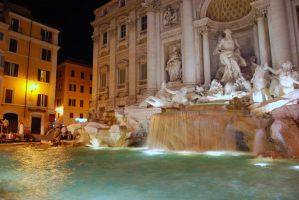 Trevi Fountain by MetallerLucy