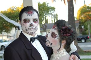 sugar skull wedding by theFATpirate