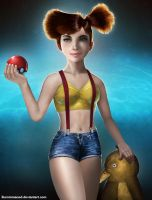 Misty by Burninmaned