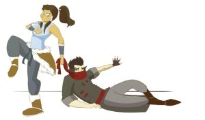 You Have Some Explaining to Do  - Makorra by FabulousBendingBros