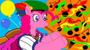 Pinkie Pie the Bard by McGreger16