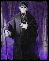 Johnny Depp as Barnabas Collins in Dark Shadows 3 by notjustone