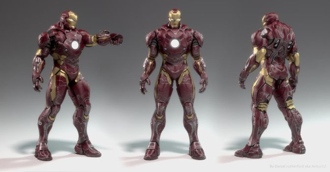 Iron man pic 1 By Daniel Rutherford by Avitus12