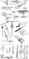 quicksketch_weapons by merumori