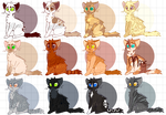 Kitten Adopts [1/12 OPEN] by SushiMeep