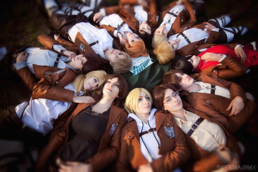 Cosband WTF People - SnK Circle by fausto-The-Endless