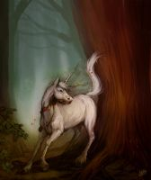Unicorn - Might and Magic V inspired by NaamahVonhell