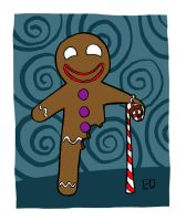 Gingerbread Man by EO88
