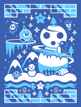 Snowman's Land (Sweater) by Versiris