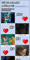 My Top 10 Couples part XIV by J-Cat