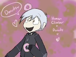 Human Climber :Donuts: by Super-Cute